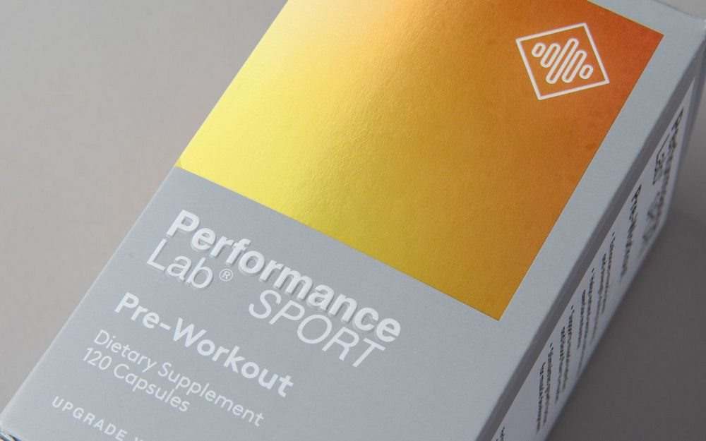 performance lab pre-workout box