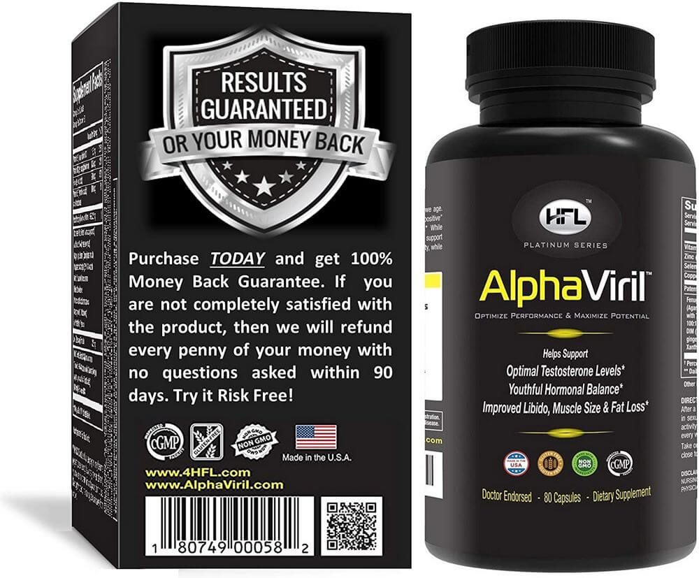 alphaviril supplement