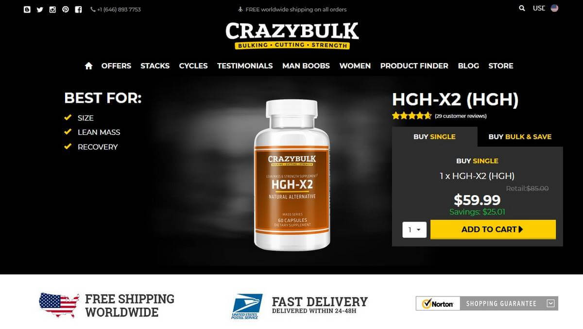 hgh-x2 website