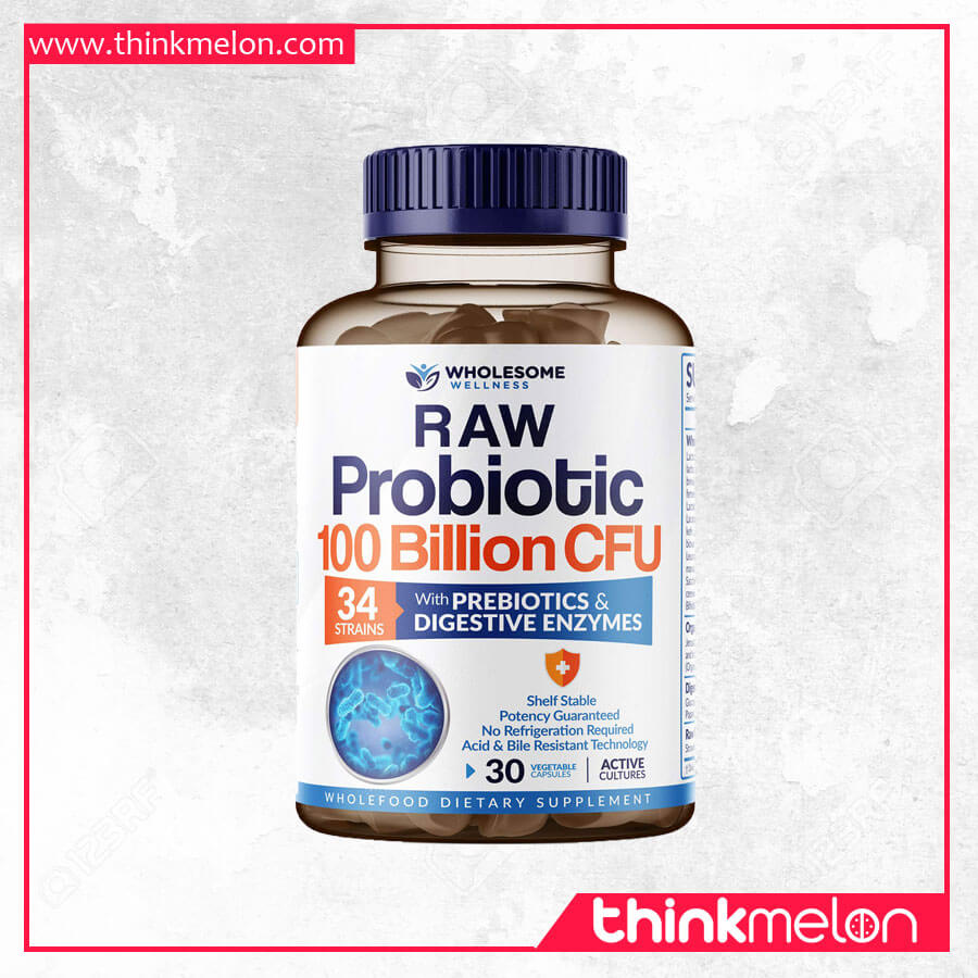 5. Wholesome Wellness Organic Probiotic