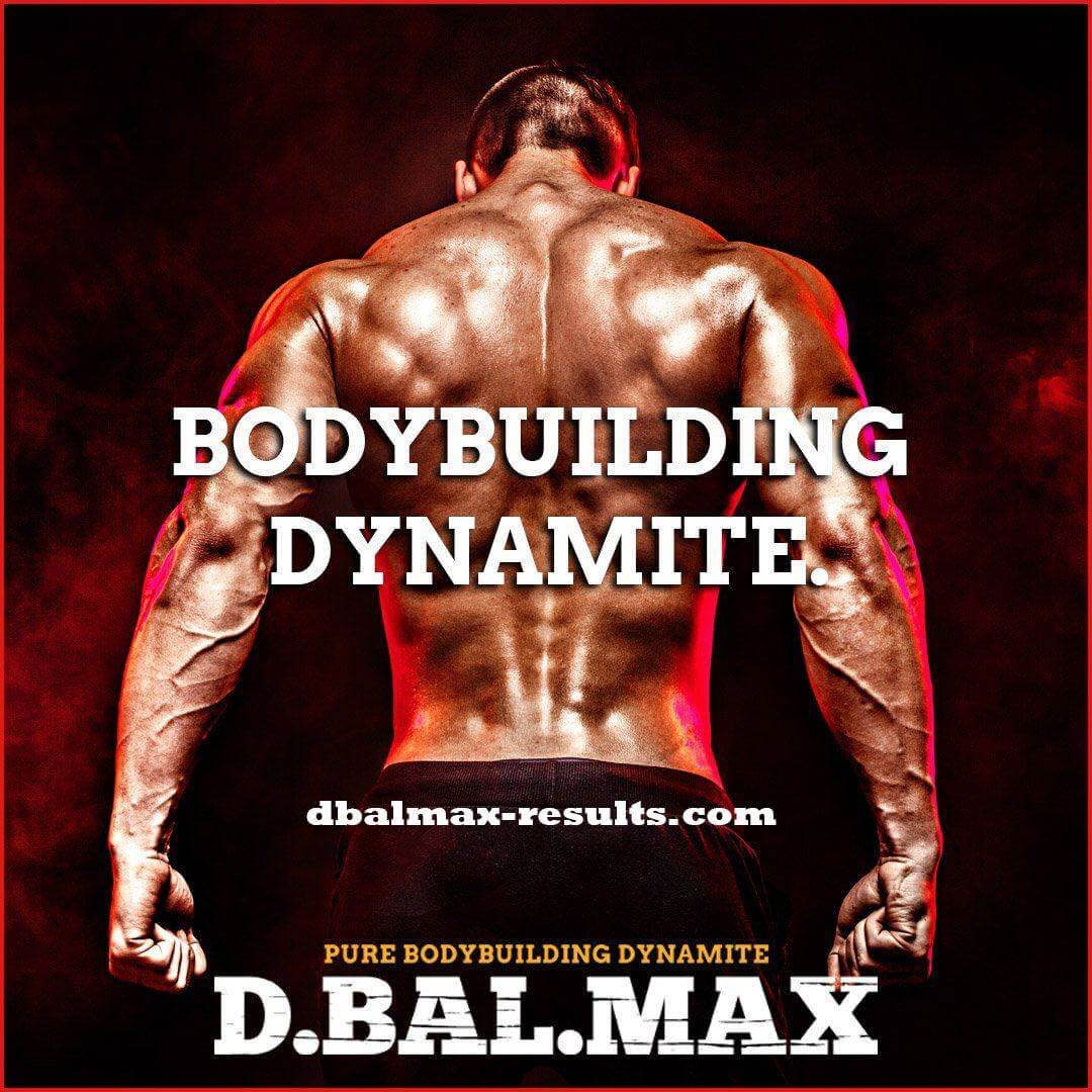 d-bal max supplement