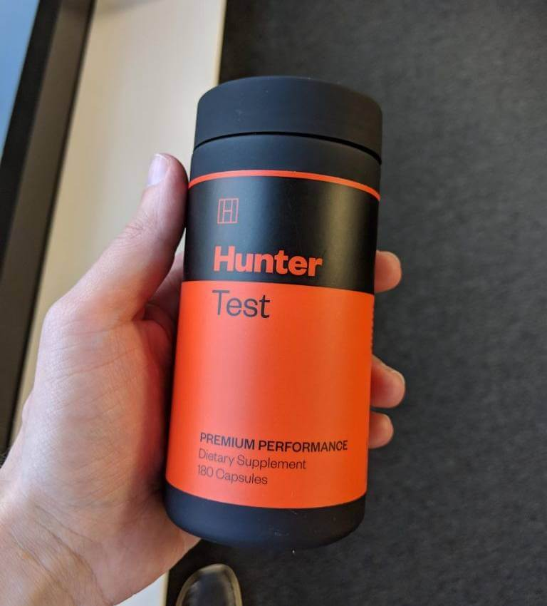 hunter test supplement