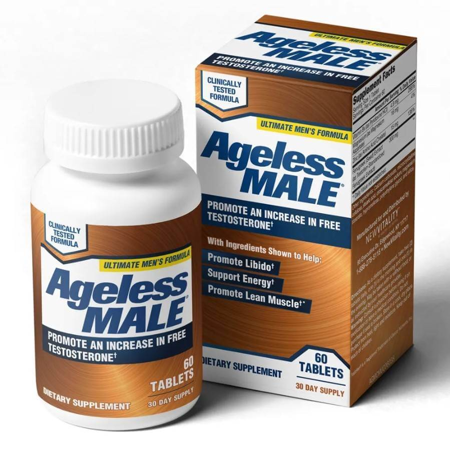 ageless male supplement